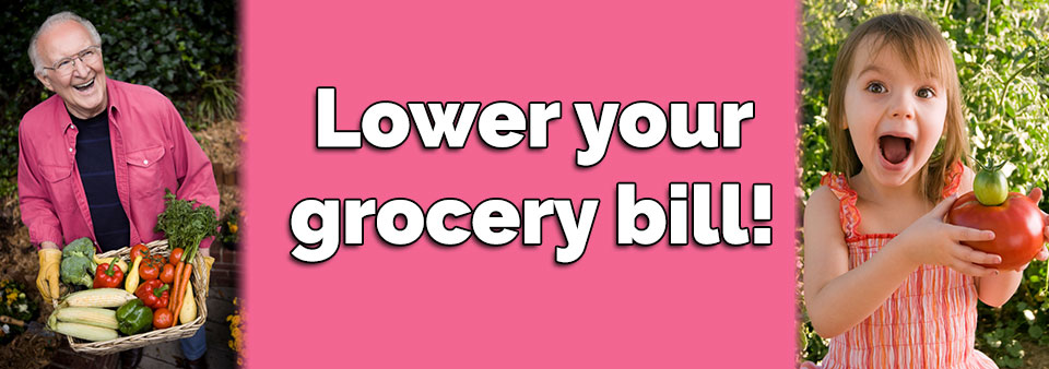 Lower your grocery bill!