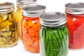 easy backyard greenhouse canned vegetables